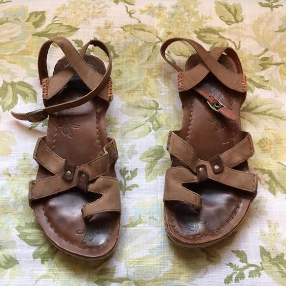 8ab82f8b86c1 MERRELL Brown Leather Sandals. M 5a6b97defcdc31c4fdd3d218